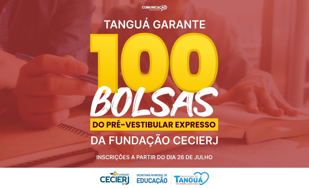 Tanguá garante 100 bolsas do Pré-Vestibular Expresso da Fundação Cecierj –  Prefeitura de Tangua